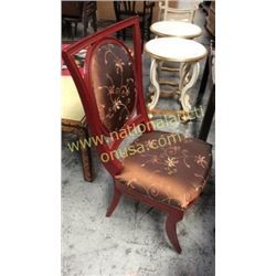 Century Dinning Chair Silk Upholstery  6x