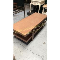Century Cocktail Table  56W x 18T x 24D