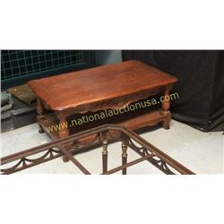 Century Cocktail Table 42W x 18T x 27D