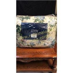 Jc penney spring green full comforter set
