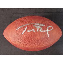 watch 9fd81 18af5 Tom Brady Signed Super Bowl XXXVIII Championship Logo ...