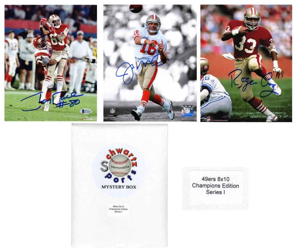 97223fe84 Image 1   San Francisco 49ers Signed Mystery 8x10 Photo – World Champions  Edition