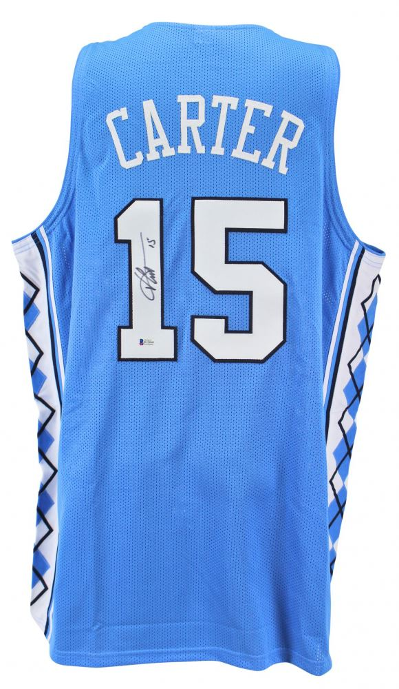 d9c3bae619e2 Image 1   Vince Carter Signed North Carolina Tar Heels Jersey (Beckett COA)