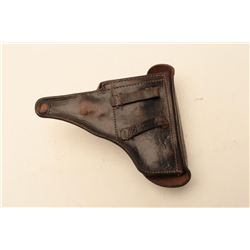 P.38 HOLSTER DATED 1942 W/NAZI PROOFS