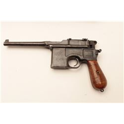 "MAUSER MDL 1896 ""BROOMHANDLE"" #141918"