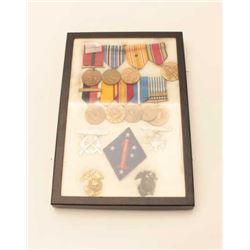 USMC WWII MEDAL GROUP