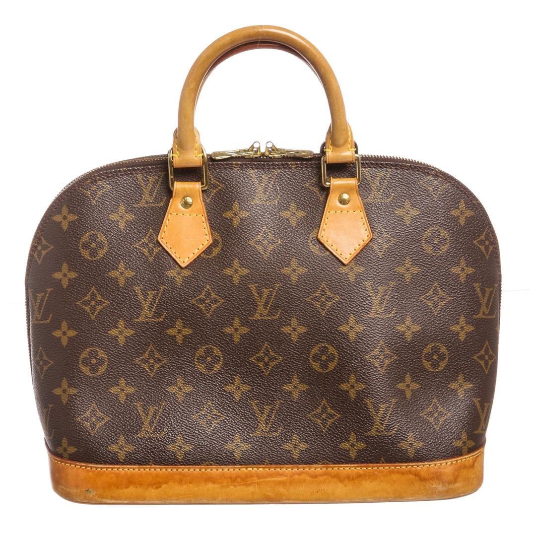 ce102dab40d3 Image 1   Louis Vuitton Monogram Canvas Leather Alma PM Handbag · Image 2  ...