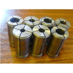 """Lyndex 1.25"""" Diameter Straight Collets, No info on units"""
