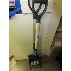 Garden spade squar end and Garden fork