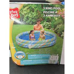 Play Day 3 ring Pool / Untested