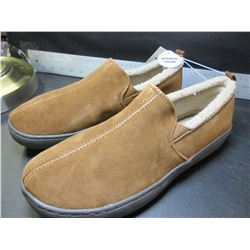 New Mossimo Genuine Suede Mens Slippers non marking sole / size 12