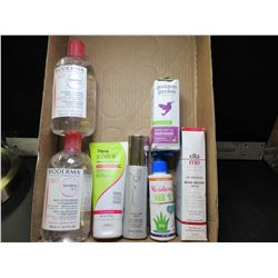 Flat of Skin Care Products inc. Makeup remover / Sunscreen & more