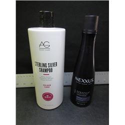 AG Sterling Silver Shampoo 33.8 oz & Nexxus Keraphix damage healing