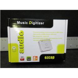 New ezcap Music Digitizer audio