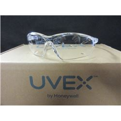 5 New Pairs Uvex Clear Safety Glasses by Honeywell