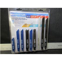 New MasterCraft 32 piece Recip/Sawzall Blades / 4-6-& 9 inch