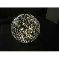 New Mercury Glass Globe Light / very Cool