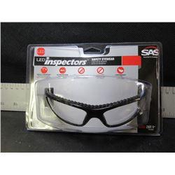 New SAS LED Inspectors safety eyeware