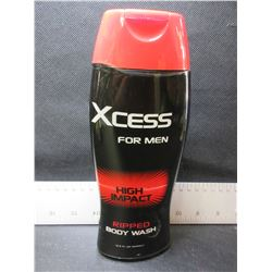 Lot of 6 Xcess Ripped High Impact Body Wash for Men
