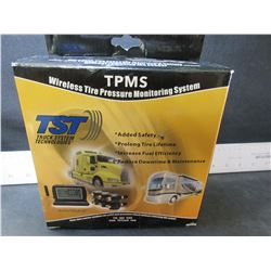 New TPMS wireless tire pressure Monitoring System / only has 4 sensors