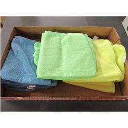 Flat of 10 New Micro Fleece Dish cloths