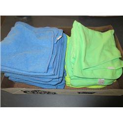 Flat of 19 New Micro Fleece Dish cloths