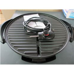 New George Forman Electric Grill / Excellent easy clean grill
