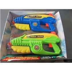 2 Yellow Jacket Super Soakers Water Guns