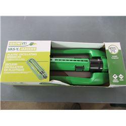 New Oscillating Sprinkler / 4000ft sq./ 375m