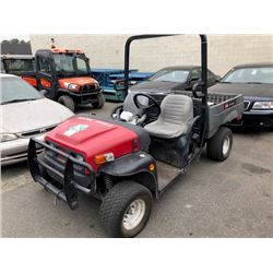 TORO WORKMAN MDE ELECTRIC WORKTRUCK VIN #