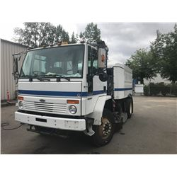 2005 ELGIN SWEEPER, WHITE, DIESEL, AIR BRAKES, AUTOMATIC, VIN#49HAADBV16DW02083, 34,291KMS,