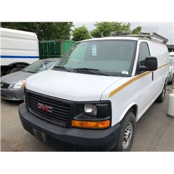 2008 GMC SAVANNA, VAN, WHITE, VIN # 1GTGG25C881226205