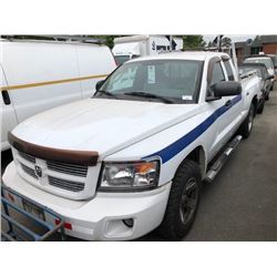 2008 DODGE DAKOTA PICKUP VIN 1D7HW32K58S540726