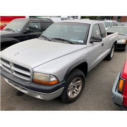 2001 DODGE DAKOTA VIN 1B7GL22X31S134115