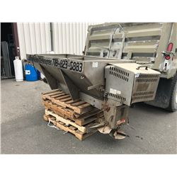 BUYER SALTDOGG STAINLESS STEEL TRUCK BOX SALT SPREADER