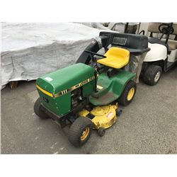 ANTIQUE JOHN DEERE GAS RIDE ON LAWN MOWER