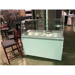 EXCELLENCE COMMERCIAL PRODUCTS FREE STANDING CHEST SHOWCASE