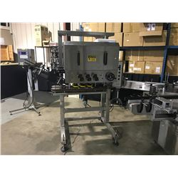 APACKS CAA6000AP STAINLESS STEEL AUTOMATIC CAPPING MACHINE