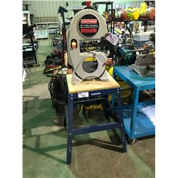 "CRAFTSMAN   1/3 HP 9"" BANDSAW WITH MASTERCRAFT STAND"