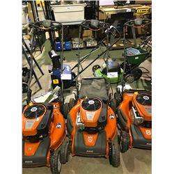HUSQVARNA HU 775AWD MOWER WITH BRIGGS AND STRATTON 775EX 175CC ENGINE WITH GRASS CATCHER