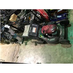 HONDA HYDROSTATIC COMMERCIAL GRADE MOWER WITH HONDA HRC216 MOTOR WITH REAR GRASS CATCHER BAG