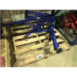 BLUE MANUAL LIFT DRYWALL SHEET HOIST