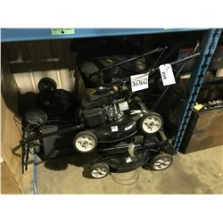 ASSORTED YARD WORKS PARTS LAWN MOWERS & BAGS