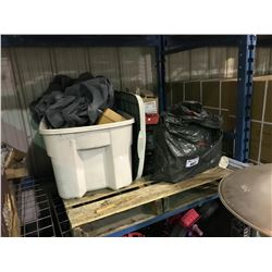 PALLET OF ASSORTED CAR & SMALL ENGINE PARTS