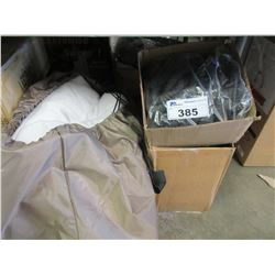 2 BOXES OF EXPANDABLE HOSES/MATTRESS PAD
