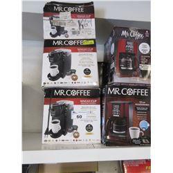 8 ASSORTED MR COFFEE MACHINES