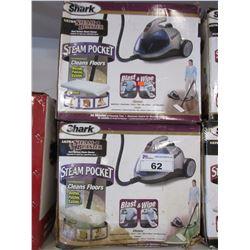 2 SHARK ULTRA STEAM BLASTER STEAM CLEANERS