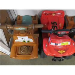 2 KIDS RECHARGEABLE RIDE ON VEHICLES