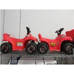 2 KIDS RIDE ON MOTORIZED TOYS