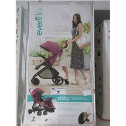 EVENFLO SIBBY BABY TRAVEL SYSTEM WITH LITEMAX 35 INFANT CAR SEAT